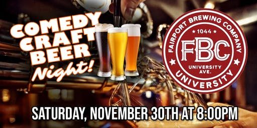 Comedy Craft Beer Night