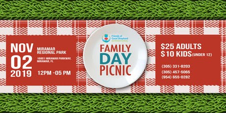 Friends of Good Shepherd 2019 Family Day Picnic tickets