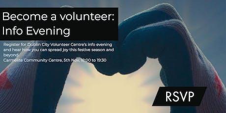 Volunteer Information Evening tickets