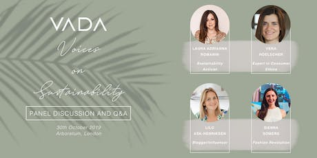 VADA Voices On Sustainability tickets