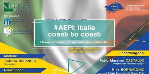 #AEPI: ITALIA COAST TO COAST