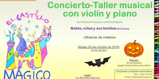 CONCIERTO-TALLER MUSICAL DE HALLOWEEN I BEBÉS, NIÑOS Y FAMILIAS