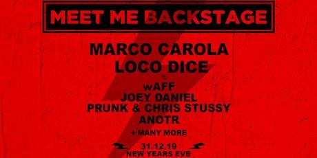 MMB NYE invites Marco Carola and Loco Dice tickets