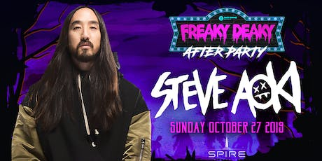 Steve Aoki / Sunday October 27th / Spire tickets