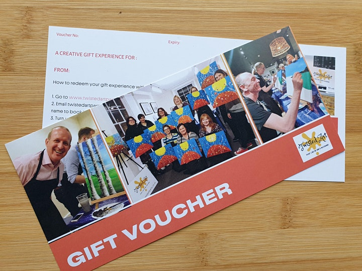 Twisted Art Gift Vouchers -  Includes postage image