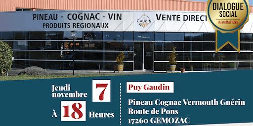 Visite de l'entreprise Puy Gaudin