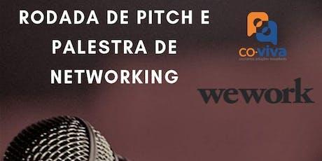 Rodada de Pitch e palestra de Networking ingressos