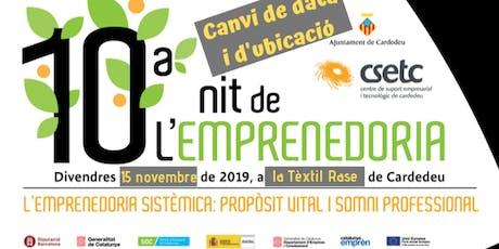 10a Nit de l'Emprenedoria - canvi de data billets