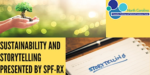 Sustainability and Storytelling Presented by SPF-Rx - Raleigh