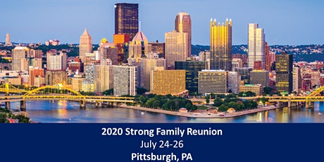 2020 Strong Family Reunion - Pittsburgh tickets