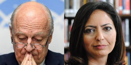 Staffan de Mistura in Conversation with  Dr Lina Khatib tickets
