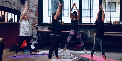 Postnatal Yoga at Duke Street Market