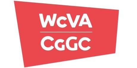 Beth sy'n newydd yng nghyllid CGGC? - Bae Colwyn / What's new in WCVA funding - Colwn Bay tickets