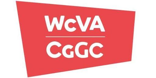 Beth sy'n newydd yng nghyllid CGGC? - Bae Colwyn / What's new in WCVA funding - Colwyn Bay