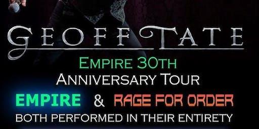 """Geoff Tate QUEENSRYCHE 30 aniversario """"Empire"""""""