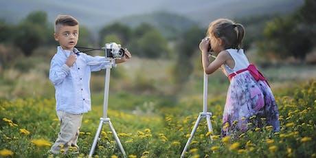 Non esiste solo la Playstation - corso di fotografia creativa per bambini tickets