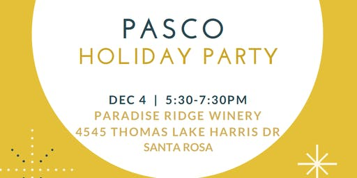 PASCO HR on the Rocks - Holiday Party