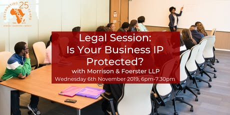 Legal Session: Is Your Business IP Protected? tickets