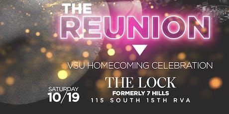The Reunion ( VSU and VUU Alumni Takeover ShipLock (7Hills )  tickets