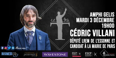Tribunes reçoit Cédric Villani