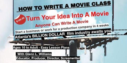 How To Write A Movie