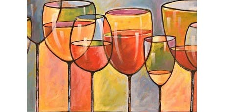 Sip and Paint WINE GLASSES Saturday Night Nov. 23 (2019-11-23 starts at 6:30 PM) tickets