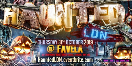 Haunted LDN tickets