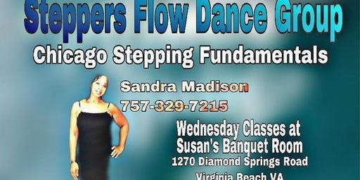 Steppers Flow Chicago Stepping Dance Class (5-Week Series)