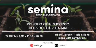 Partecipa al successo delle aziende alimentari con Semina