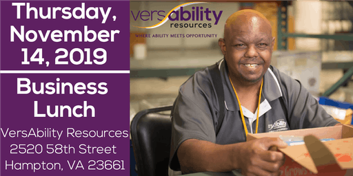 VersAbility November Business Lunch