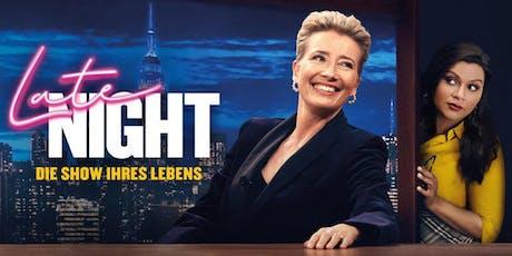 KINO: Late Night – Die Show ihres Lebens Tickets
