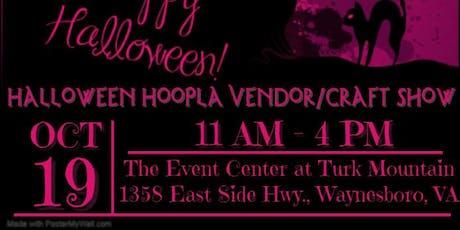 Halloween Hoopla Vendor/Craft Show tickets