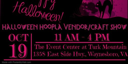 Halloween Hoopla Vendor/Craft Show