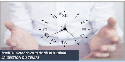 L'atelier du jeudi : La gestion du temps !