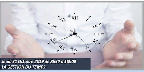 L'atelier du jeudi : La gestion du temps ! billets