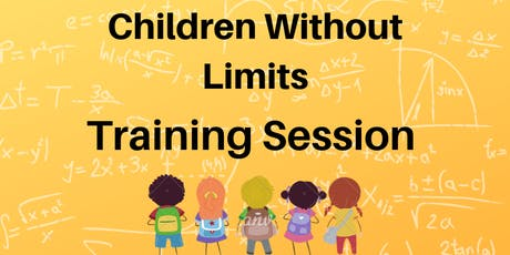 Children Without Limits Training Session tickets