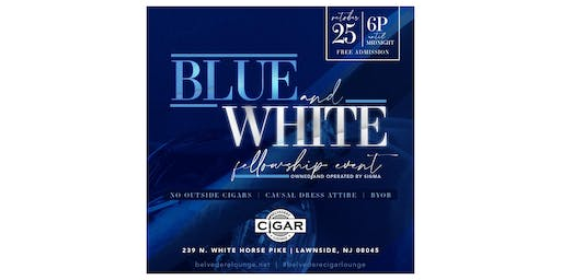 Blue and White Fellowship Event