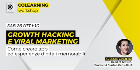 Growth hacking e viral marketing biglietti