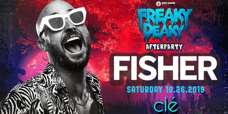 Fisher / Saturday October 26th / Clé tickets