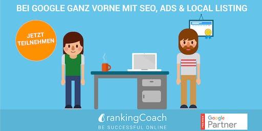 Online Marketing Workshop in Frankfurt: SEO, Ads, Local Listing