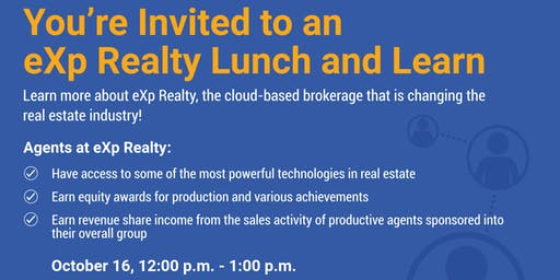 eXp Explained--Lunch & Learn