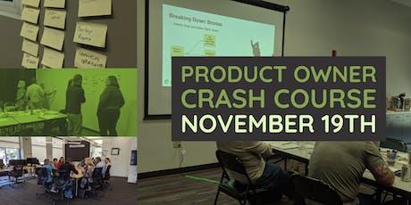 Product Owner Crash Course - Cincinnati tickets