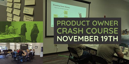 Product Owner Crash Course - Cincinnati