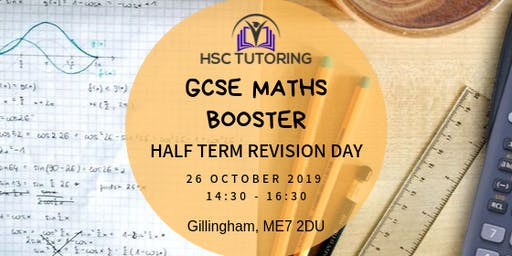 GCSE Maths Half Term Booster
