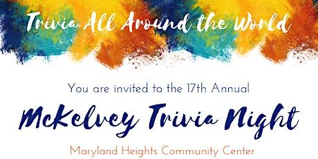 17th Annual McKelvey Trivia Night tickets