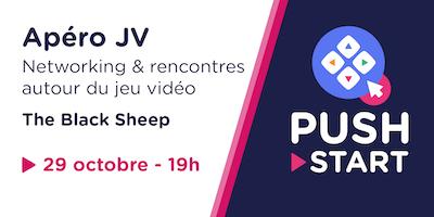 Apéro JV octobre - Networking & rencontres autour du jeu vidéo