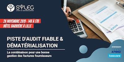 Piste d'Audit Fiable & Dématérialisation de factures
