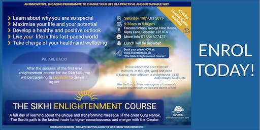 The Sikhi Enlightenment Course (Leicester)