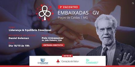 3 º Encontro Embaixadas GV ingressos