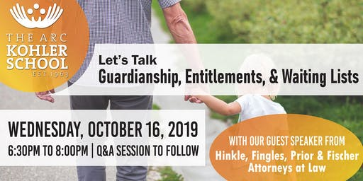 Learn more about Guardianship, Entitlements, & Waiting Lists!